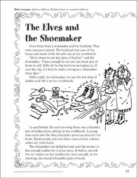 The Elves and the Shoemaker (Algebra, Adding, Multiplying ...