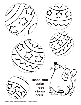 photograph regarding Circles Printable identified as Tracing Expertise: Tracing Circles Printable Abilities Sheets