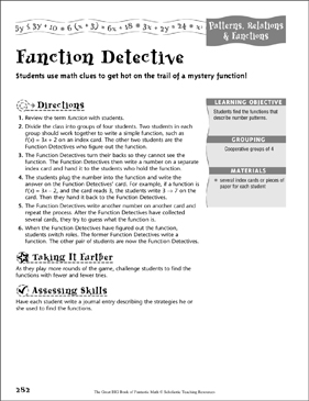 photo regarding Printable Detective Games identified as Attribute Detective (Routines, Kin Capabilities