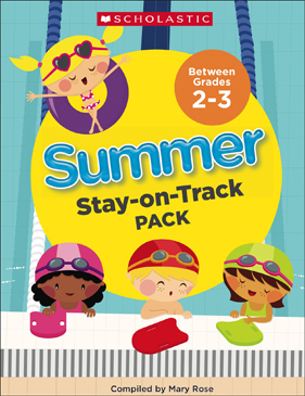 Summer Stay-on-Track Pack Between Grades 2 and 3 - Printable Worksheet