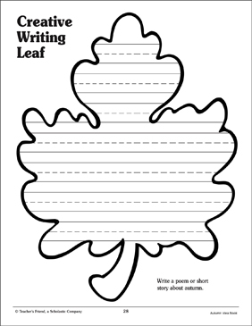 Leaf Stationary - Printable Worksheet