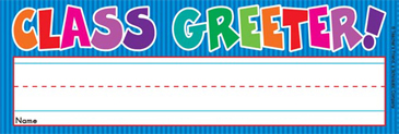 Class Greeter! (Fill in Name) - Image Clip Art