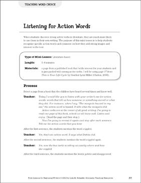 Word Choice Worksheets Teaching Resources | Teachers Pay Teachers