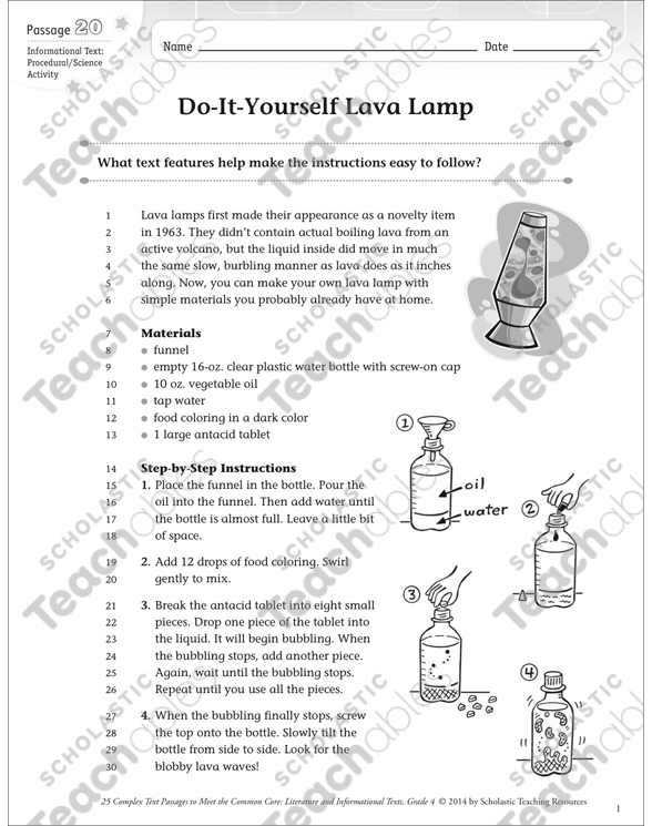 Do it yourself lava lamp text questions printable texts and see inside image solutioingenieria Images