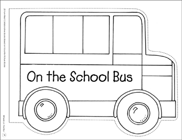 Wheels on the Bus: Collaborative Book - Printable Worksheet