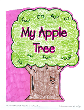 My Apple Tree: Collaborative Book - Printable Worksheet