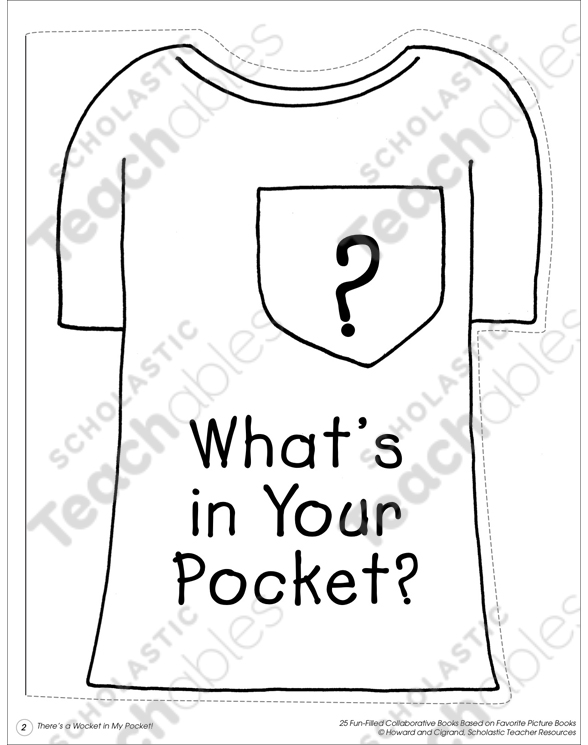 photograph relating to Wocket in My Pocket Printable known as Whats within just Your Pocket?: Collaborative Guide Printable