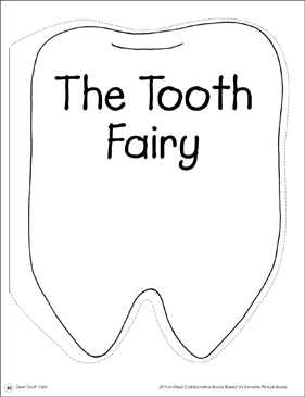 The Tooth Fairy: Collaborative Book - Printable Worksheet