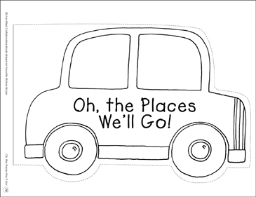 Oh, the Places We'll Go!: Collaborative Book - Printable Worksheet