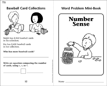 Number Sense - Printable Worksheet