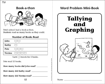 Tallying and Graphing - Printable Worksheet