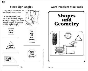 Shapes and Geometry - Printable Worksheet