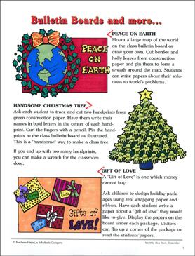 Winter Holiday Bulletin Board Ideas Printable Boards