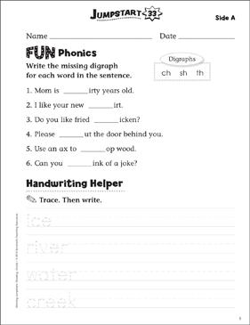 independent practice grade 1 reading jumpstart 33 printable skills sheets. Black Bedroom Furniture Sets. Home Design Ideas