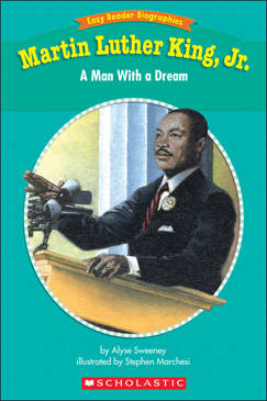 Martin Luther King, Jr.: Man With a Dream - Printable Worksheet