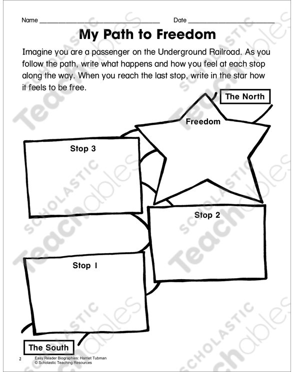 Harriet Tubman Lesson Plan Activity Page Printable Skills Sheets. See Inside. Worksheet. Harriet Tubman Worksheets At Mspartners.co
