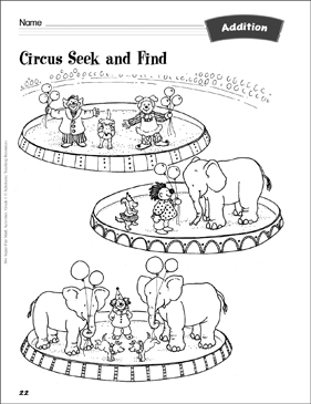 image regarding Seek and Find Printable titled Circus Seek out and Come across (Incorporating) Printable Lesson Applications