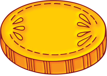 picture regarding Printable Gold Coins referred to as Gold Coin Printable Clip Artwork and Photographs