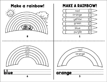 Make a Rainbow! - Printable Worksheet