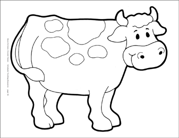 graphic about Printable Cow Pattern known as Cow Reproducible Habit Printable Clip Artwork and Pics