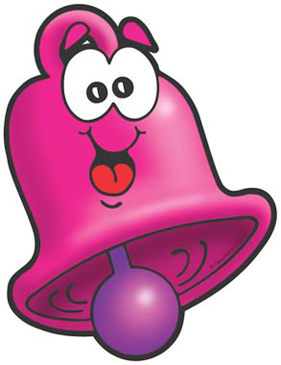 Pink Bell - Image Clip Art