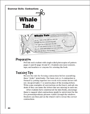 Whale Tale - Printable Worksheet
