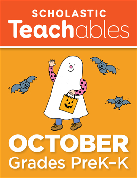 October PreK-K Printable Packet - Printable Worksheet