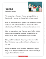 Learning About Elections and Voting for Kids - Worksheets ...