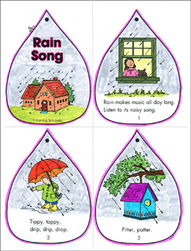 Rain Song - Printable Worksheet