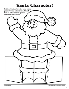 Stand-Up Holiday Patterns - Printable Worksheet