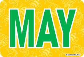 May (Abbreviated) - Image Clip Art