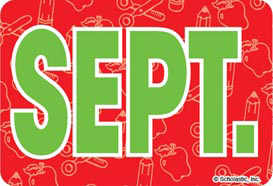 September (Abbreviated) - Image Clip Art