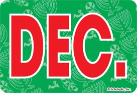 December (Abbreviated) - Image Clip Art