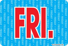 Friday (Abbreviated) - Image Clip Art