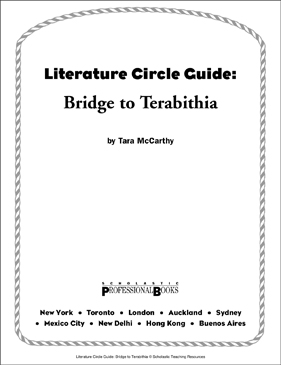 Literature Circle Guide: Bridge to Terabithia - Printable Worksheet