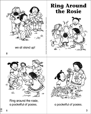 Ring Around the Rosie - Printable Worksheet