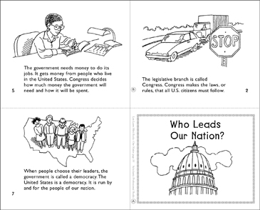 Who Leads Our Nation? - Printable Worksheet