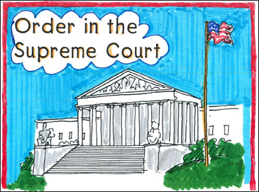 Order in the Supreme Court - Printable Worksheet