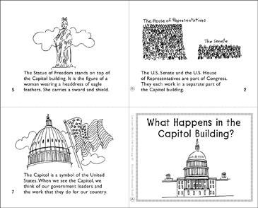 What Happens in the Capitol Building? - Printable Worksheet