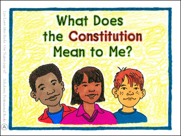 What Does the Constitution Mean to Me? - Printable Worksheet