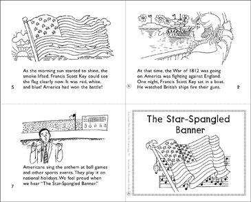 The Star-Spangled Banner - Printable Worksheet