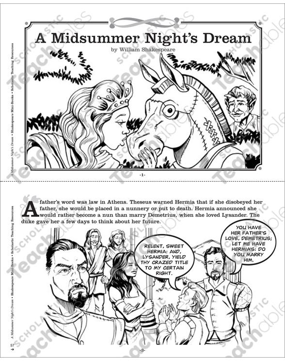 William Shakespeare Comic