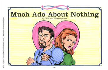 Shakespeare Comics: Much Ado About Nothing - Printable Worksheet