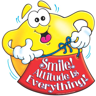 Smile! Attitude Is Everything! - Image Clip Art