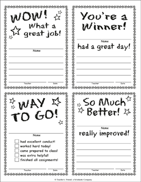 What a Great Job! - Printable Worksheet