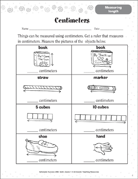 picture relating to Centimeter Cubes Printable identify Centimeters (Measuring Duration) Printable Expertise Sheets