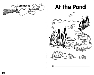 Math Skills: At the Pond - Printable Worksheet