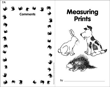 Measuring Prints: Math Skills - Printable Worksheet