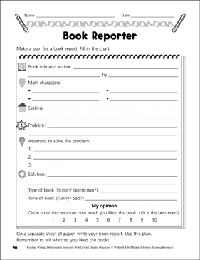 Book reports writers