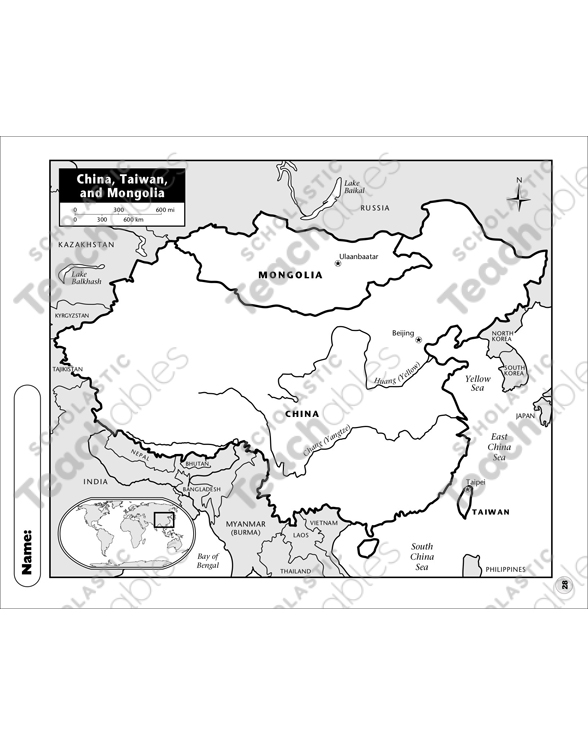 picture regarding Printable China Map identify China, Taiwan, and Mongolia Map Printable Maps and Competencies